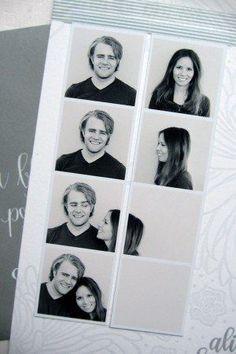 Cute photo booth idea. =)