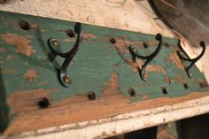 vintage hooks available Sept 19-21, 2014 at www.chartreuseandco.com/tagsale, #hooks, #salvaged