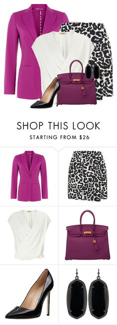 """Purple Accessories"" by tayswift-1d ❤ liked on Polyvore featuring Etro, New Look, L'Agence, Hermès, Manolo Blahnik, Kendra Scott, purple, manoloblahnik, business and hermes"