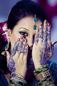 Arabic wedding mehndi design collection 2013