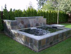 formal pond design