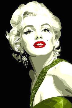 Marilyn Monroe popart