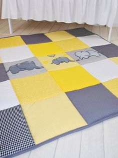 #playmat #play_mat floor gym crawl mat baby mat by Customquiltsbyeva
