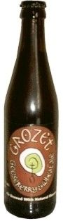 Cerveja Grozet Gooseberry & Wheat Ale, estilo Scottish, produzida por Williams Bros Brewing Co., Escócia. 5% ABV de álcool.