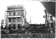 """""""Cladirea Facultatii de Chimie de pe Splaiul Independentei, la podul Hasdeu, prabusita in urma cutremurului. Bucuresti 7 martie 1977"""""""