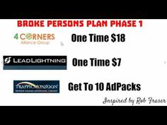 Broke Persons Plan Phase 1