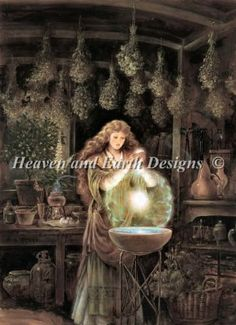Scent of Magic (mini) | by Kinuko Y Craft Arts | Heaven and Earth Designs