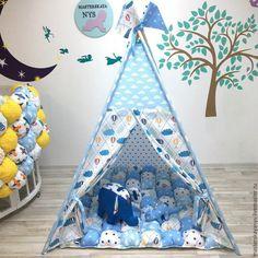 Купить Чудесный вигвам с самолетиками для ребенка. Домик, шалаш, палатка. - вигвам, вигвам для детей
