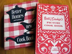 Browsing through cookbooks to find that perfect something to make.