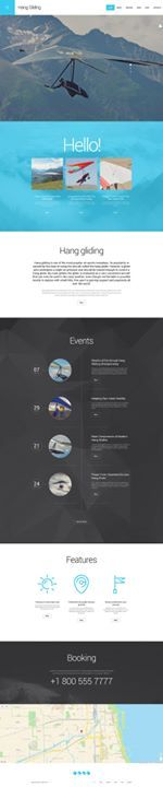 Who liked it? I loved it!!   Hang Gliding WordPress Theme view live demo  http://cattemplate.com/website-template/hang-gliding-wordpress-theme/