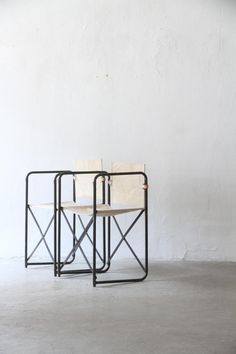 LAMA folding chair | unplugged