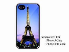 iPhone 4/4s Case  Eiffel Tower At Night Day  by NiceFaceShop, $15.00