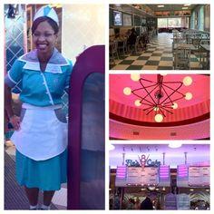 Inside Flo's V8 Cafe