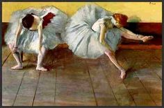 Two Ballet Dancers Edgar Degas Date: 1879 Style: Impressionism Genre: genre painting Media: pastel Location: Shelburne Museum, VT, United States Degas Ballerina, Ballerina Painting, Edgar Degas, Degas Dancers, Ballet Dancers, Ballet Girls, Ballet Music, Most Famous Paintings, Famous Art