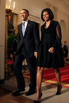 The President & First Lady Obama