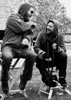 Ryan and Bam. Besties. This is sad and sweet at the same time <3 Lovelovelove this shot.