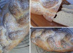 Recept Tvarohová Vánočka Thing 1, Hamburger, Bread, Brot, Baking, Burgers, Breads, Buns
