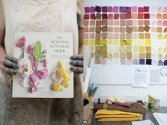 "KRISTINE VEJAR // Pioneering Modern Natural Dyes // ""There's a duality to natural dyeing that Kristine Vejar embraces: the naturalist and plant pigment explorer; the scientist and careful recipe creator."""