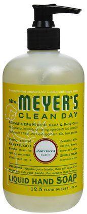 Mrs. Meyer's Clean Day Liquid Hand Soap honeysuckle