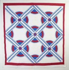 New York Beauty Quilt: Circa 1930 (item #1217669, detailed views)