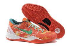 various colors ed4a6 9820e Nike Zoom Kobe VIII 8 All-Star Red Green Basketball Shoes Nike Zoom,