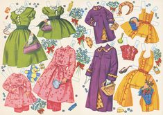 sisters Paper Dolls  | Swing Fashionista