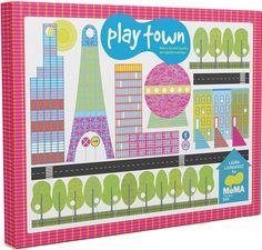 MoMA Play Town por Laura Ljunkgvist  Arte para toda la familia  Más info y precio en:  http://arcadiamediatica.com/libro/moma-play-town_15505