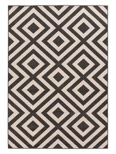 Surya Alfresco Indoor/Outdoor Area Rug x at Lowe's. Achieving timeless trend that will suit both your indoor AND outdoor spaces, the Alfresco Collection is a welcome addition inside and out! The Brighton, Thing 1, Black Rug, Color Black, Indoor Outdoor Area Rugs, Outdoor Living, Outdoor Spaces, Outdoor Decor, Outdoor Stuff