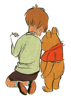 Disney Concepts & Stuff: Winnie the Pooh Art Disney, Disney Concept Art, Disney Kunst, Winnie The Pooh Cartoon, Winne The Pooh, Eeyore, Tigger, Robin Drawing, Animation Disney