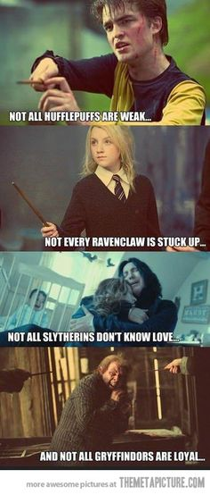 Funny pictures about Harry Potter and its characters. Oh, and cool pics about Harry Potter and its characters. Also, Harry Potter and its characters. Harry Potter World, Mundo Harry Potter, Harry Potter Love, Harry Potter Fandom, Harry Potter Memes, Potter Facts, Harry Potter Houses Traits, Harry Potter Hufflepuff Characters, Funny Harry Potter