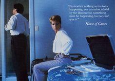 House of Games (David Mamet, 1987). Roger Ebert Great Movies