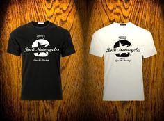 T Shirt Rock Motorcycles 2014