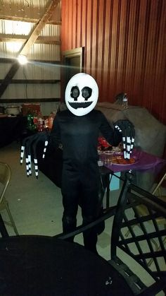 FNAF marionette costume won a costume contest!   Five nights at ...