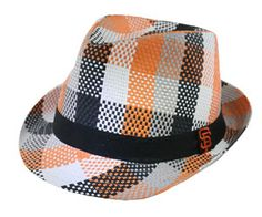 #SFGiants Plaid Fedora - 1st 20,000 fans Saturday, August 24th