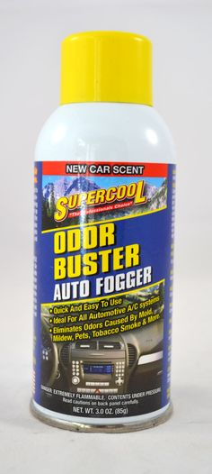 Odor Buster Auto Fogger - New Car Scent