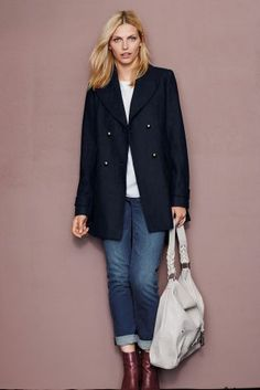 Fleurette Long Wool Coat (Regular & Petite) | Saving Up For ...