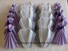 Pliage Serviette En Robe De Bal In 2020