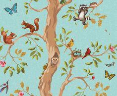 Nursery decor, Custom and Children wallpaper - Luxury wallcovering - Made in LA