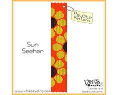 Peyote Pattern: Sun Seeker - INSTANT DOWNLOAD pdf - Buy 2 Patterns Get 1 Free with coupon codes - bp170