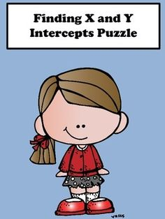 X and Y Intercept:  Students will enjoy finding the x and y intercept (standard form) with this scrambler puzzle activity. This activity is great for remediation and differentiation.