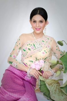 Wedding Costumes, Wedding Outfits, Traditional Wedding Dresses, Lace Corset, One Shoulder, Formal Dresses, Cambodia, Ethnic, Amazing