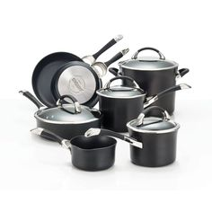 Circulon Symmetry Hard Anodized Nonstick 11-Piece Cookware Set ** Continue to the product at the image link.