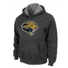 8d441f4528 Wholesale Men Jacksonville Jaguars Dark Grey Basic Logo Pullover  Hoodie Jacksonville Jaguars Pullover Hoodie