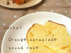 オレンジマーマレードパウンドケーキの画像