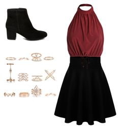 Night Out by destinyhearts on Polyvore featuring polyvore, moda, style, Steve Madden, New Look, fashion and clothing