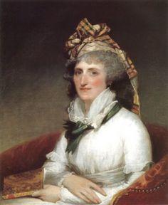 1797 Gilbert Stuart (1755-1828) Mary Willing Clymer