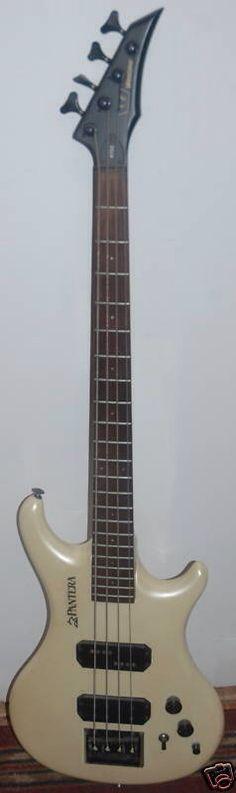 1986 Westone Pantera X750PW JP. bass Fantastic Rock Bass. Bonnie Sings.