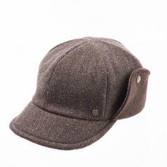Brown ear flap cap www.omae.co/shop/brownhat
