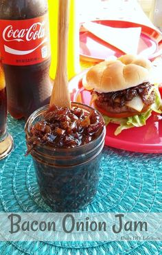 What goes better with an ice cold Coca-Cola than a burger? One topped with the best Bacon Onion Jam! The only burger topping you need! #ad #ShareIceColdFun @gianteagle