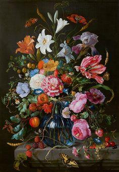 Vase with Flowers from de Heem -